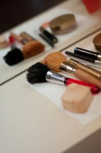 Fertig zum Make Up